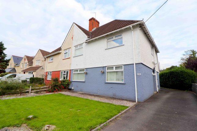 Thumbnail Semi-detached house for sale in Glynhir Road, Swansea