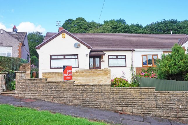 Thumbnail Bungalow for sale in The Avenue, Ystrad Mynach