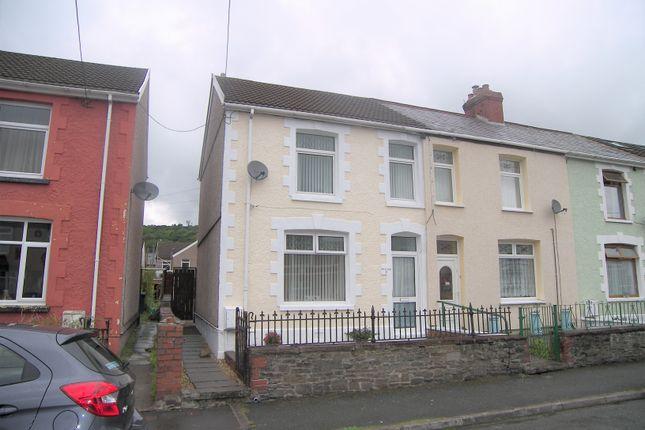 Thumbnail Semi-detached house for sale in Edward Street, Glynneath, Neath