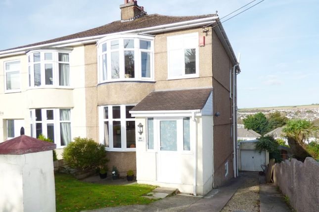 Thumbnail Semi-detached house for sale in Underlane, Plympton, Plymouth
