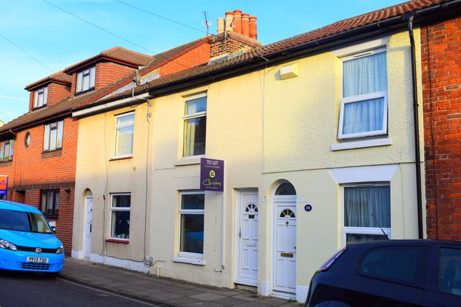 Thumbnail Terraced house to rent in Oxford Road, Southsea, Hampshire