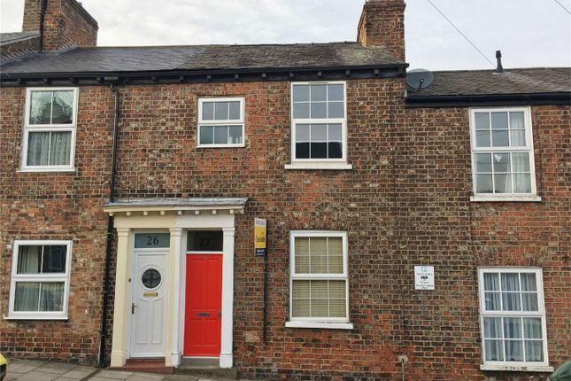Thumbnail Terraced house for sale in Buckingham Street, Bishophill, York