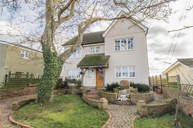 Thumbnail Detached house for sale in Toldish Hall Road, Great Maplestead, Halstead