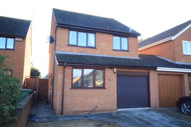 3 bed link-detached house for sale in Wade Close, Westonzoyland, Bridgwater TA7