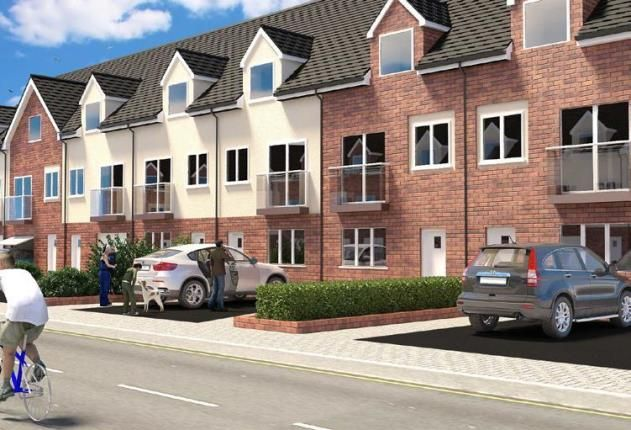 Thumbnail Town house for sale in Britannia Gate, Palgrave Road, Bedford