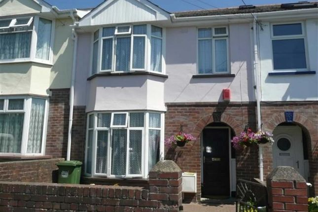 Thumbnail Terraced house to rent in Abbey Road, Barnstaple, Devon