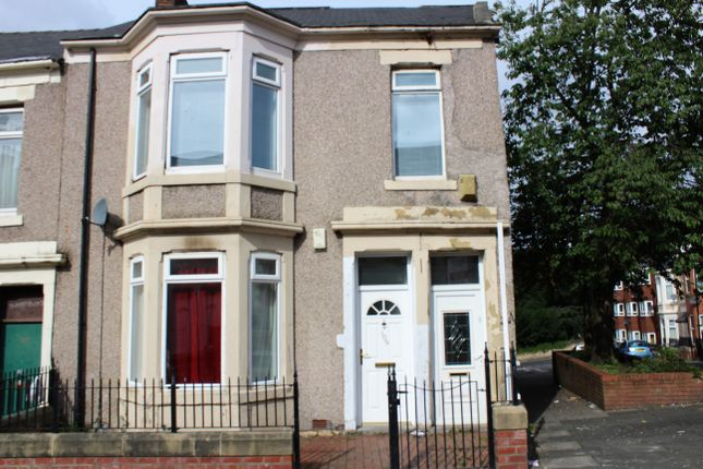 Thumbnail Flat to rent in Gerald Street, Benwell, Newcastle Upon Tyne