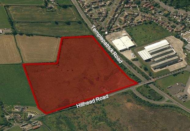 Thumbnail Land for sale in Hillhead Road, Ballyclare, County Antrim