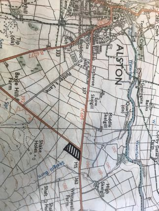 Area Map of Nenthead Road, Alston CA9