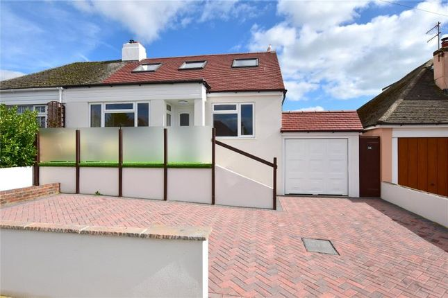 Thumbnail Semi-detached bungalow for sale in Griffiths Avenue, North Lancing, West Sussex
