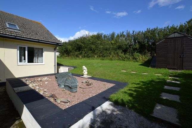 Rear Garden of Spring Road, Wembury Point, Plymouth PL9