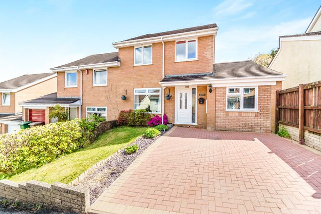 Thumbnail Semi-detached house for sale in Frome Close, Plympton, Plymouth