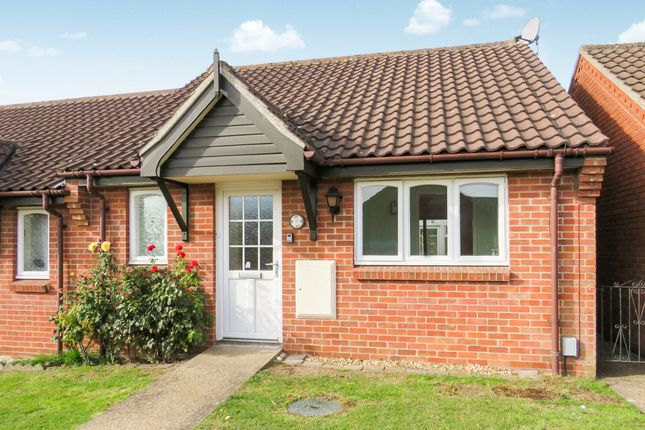 Thumbnail Terraced bungalow for sale in Bentley Way, Weston Road, Norwich