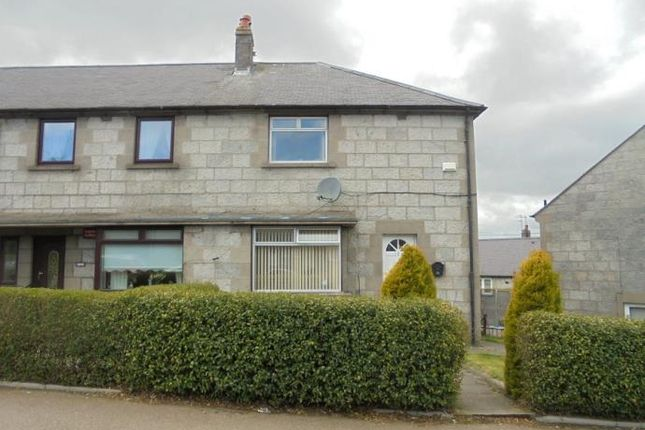 Thumbnail End terrace house to rent in Faulds Gate, Aberdeen