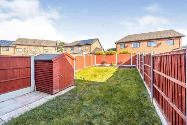 Garden of Bridgemill Close, Netherley, Liverpool, Merseyside L27
