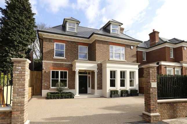Thumbnail Detached house for sale in Margin Drive, Wimbledon Village, Wimbledon