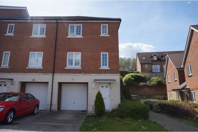 Thumbnail End terrace house for sale in Running Foxes Lane, Ashford