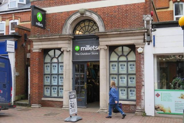 Thumbnail Retail premises to let in High Street 33, Camberley, Surrey