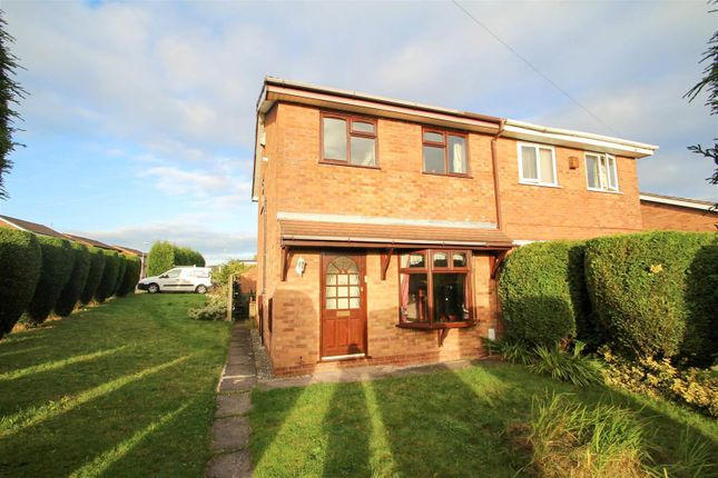 Thumbnail Semi-detached house to rent in Ledbury Crescent, Birches Head, Stoke-On-Trent