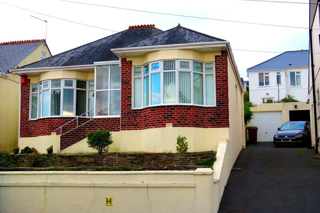 Thumbnail Detached bungalow for sale in Weston Park Road, Peverell, Plymouth