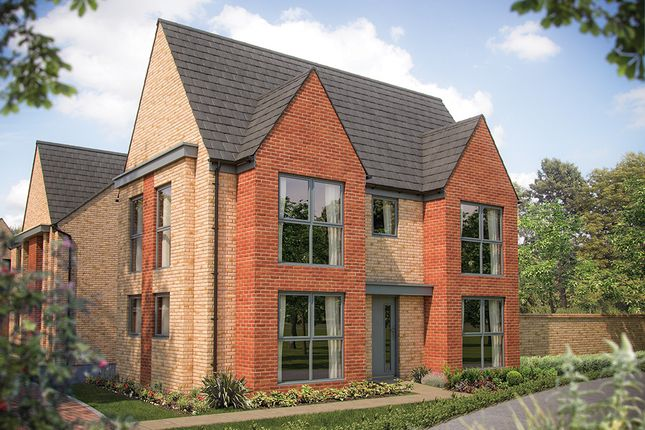 "Thumbnail Link-detached house for sale in ""The Sheringham"" at Station Road, Longstanton, Cambridge"
