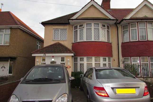Thumbnail Semi-detached house for sale in Woodside End, Wembley