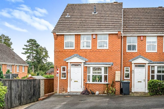 Thumbnail End terrace house for sale in Anton Close, Bewdley