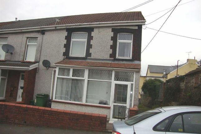 Thumbnail End terrace house to rent in Coronation Terrace, Pontypridd