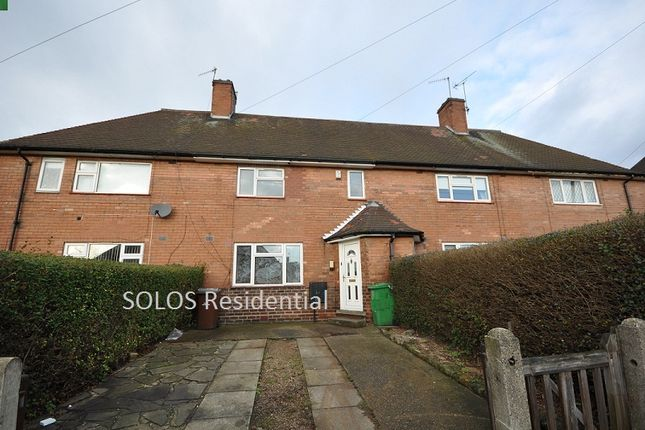 Thumbnail Terraced house to rent in Rosecroft Drive, Daybrook, Nottingham