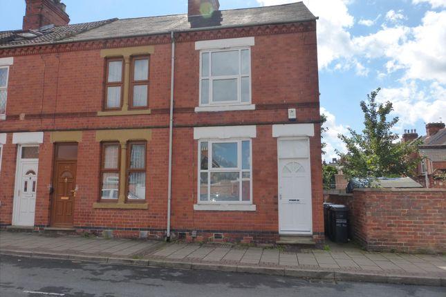Thumbnail End terrace house to rent in Oxford Street, Loughborough