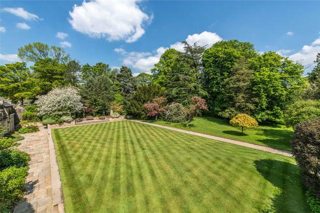 Lawned Gardens of Waddington, Clitheroe, Lancashire BB7