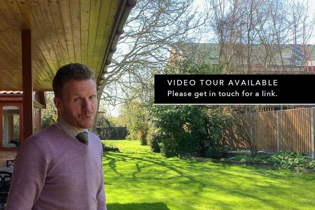 Thumbnail Detached bungalow for sale in Royston Road, Harston, Cambridge