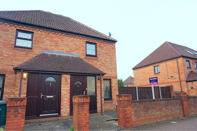 Thumbnail End terrace house for sale in Fleetwood Court, London