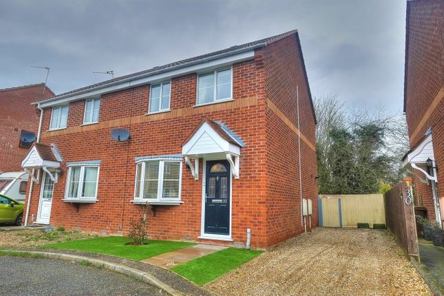 Thumbnail Semi-detached house for sale in High Way, Lingwood, Norwich