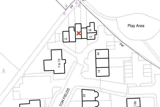 Plot Map of Melton Fields, Epsom KT19