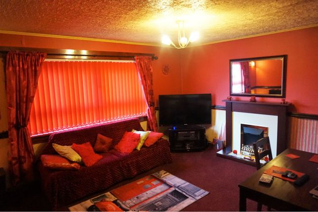Lounge of 61 Wren Road, Greenock PA16