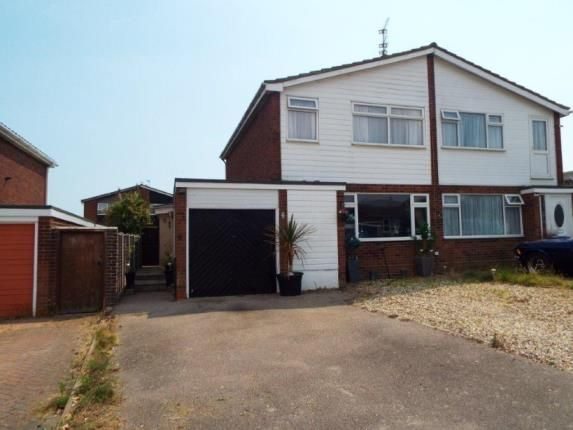 Thumbnail Semi-detached house for sale in Peregrine Close, Clacton-On-Sea