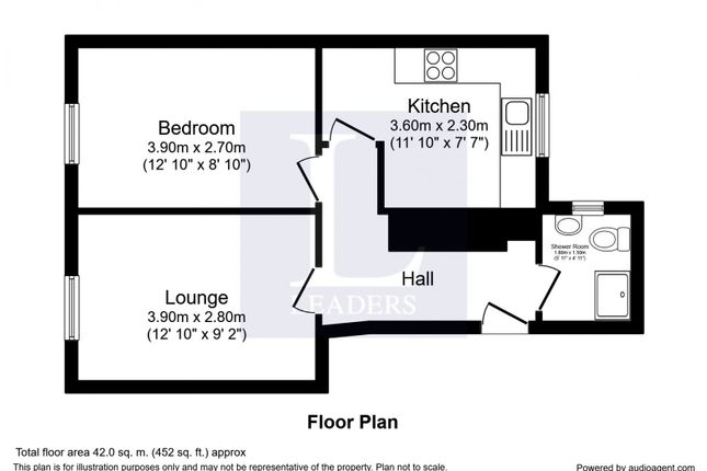 Floorplan of Barnfield Place, Newland Street, Witham CM8