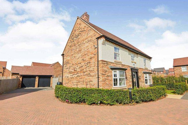 Thumbnail Detached house for sale in Hoskins Lane, Newton Solney, Burton-On-Trent, Derbyshire