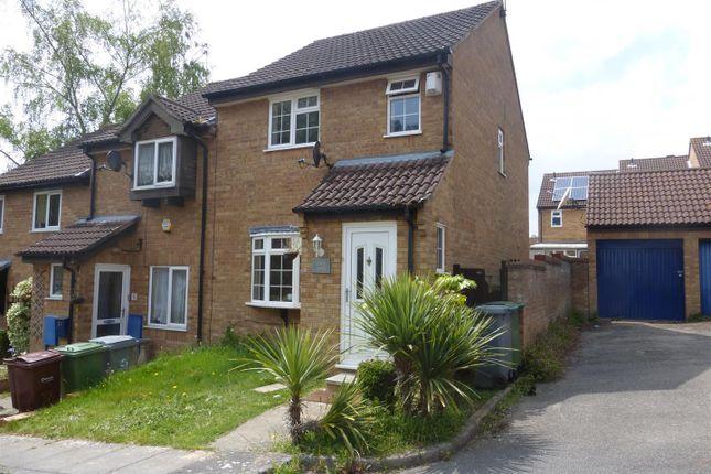 Thumbnail End terrace house to rent in Suters Drive, Taverham, Norwich
