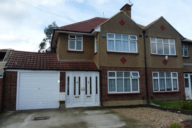 Thumbnail Semi-detached house for sale in Manning Gardens, Kenton