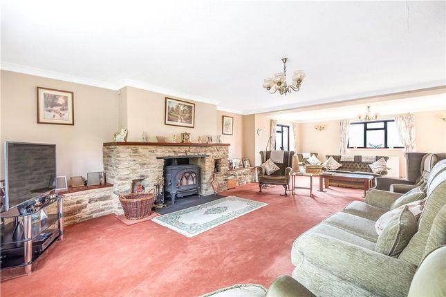 Sitting Room of Bratton Seymour, Wincanton, Somerset BA9