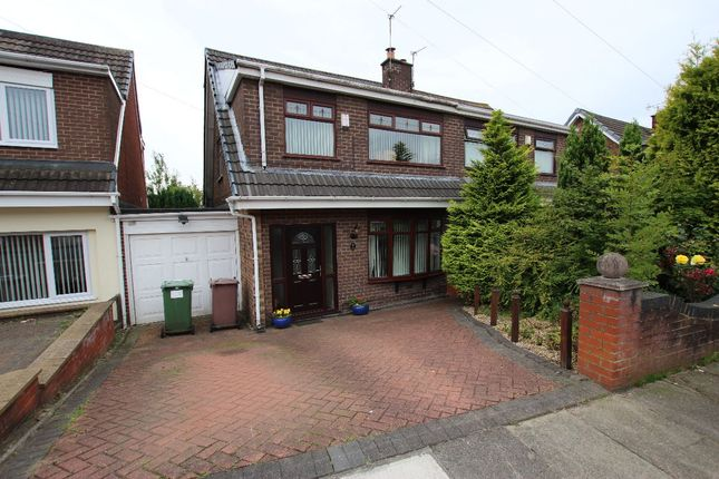 Thumbnail Semi-detached house for sale in Barwell Avenue, St. Helens