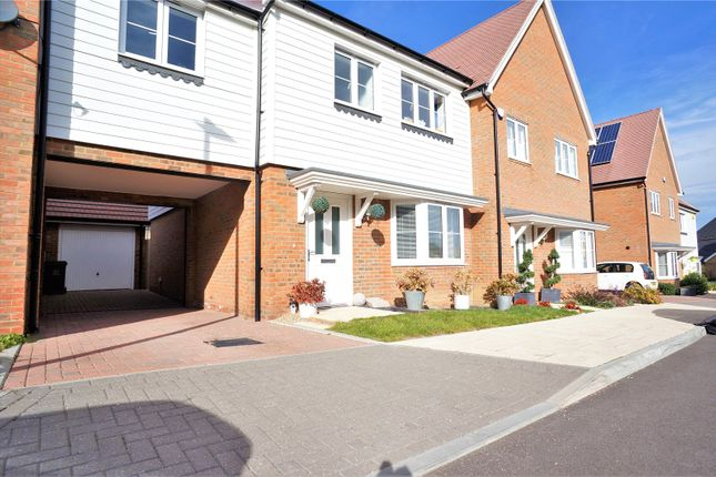 Thumbnail Terraced house for sale in Flora Way, Hoo, Rochester