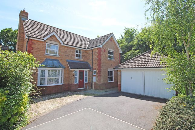 Thumbnail Detached house for sale in Green Pastures Road, Wraxall, Bristol
