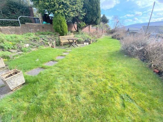 Garden of Bryntirion Road, Merthyr Tydfil CF47
