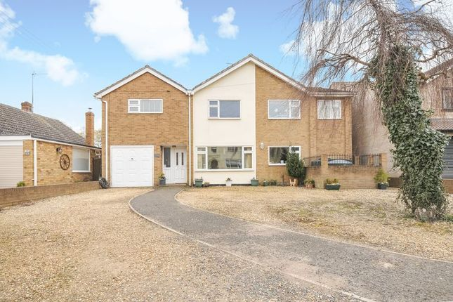 Thumbnail Detached house for sale in Eastgate, Deeping St James, Peterborough