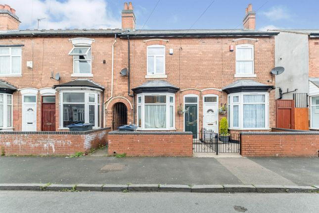 Thumbnail Terraced house for sale in Willmore Road, Handsworth, Birmingham