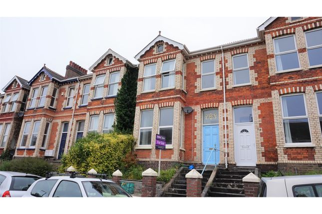 Thumbnail Town house for sale in Salisbury Road, Plymouth