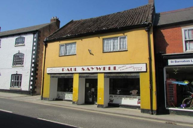 Thumbnail Commercial property for sale in High Street, Alford
